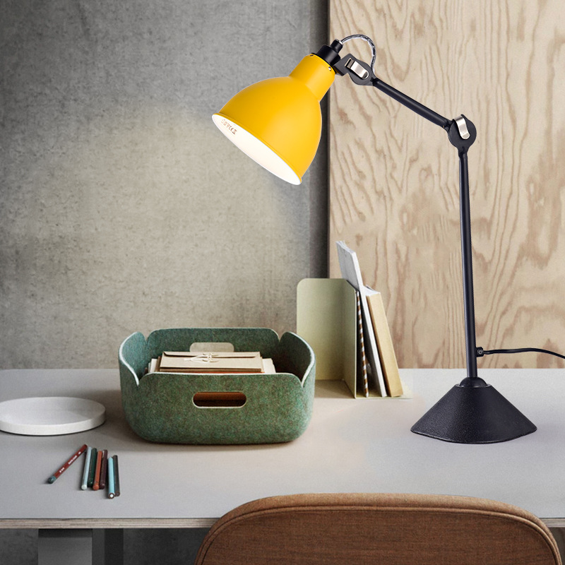 Application Grey And White Table Lamp