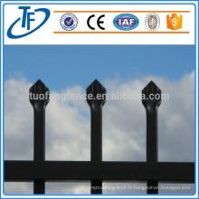 Clôture de garnison de haute qualité, fabricant professionnel de barres bon marché
