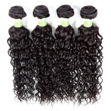 can be dyed human hair extension double weft weaving curly afro for women