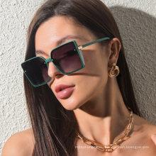 Retro Large Box Square Sunglasses for Men Women Sunscreen