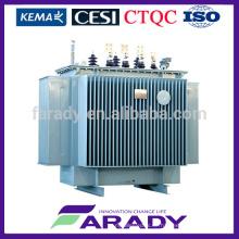 Stromverbrauch KNAN Transformator 33kv 1000kva elektrische Leistung KNAN Transformator