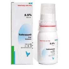 GMP Toltrazuril Oral Solution 2.5٪ 100ml