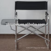 Factory good quality lightweight captain chair/aluminum director chair