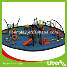 Spider Man Cool kids outdoor playground equipment LE.ZZ.002 for park, perfect playground structure for outside moving