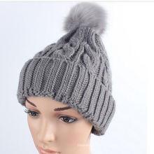 2016 Novos produtos quentes Colourful Stylish Knitted Custom Beanie Hat