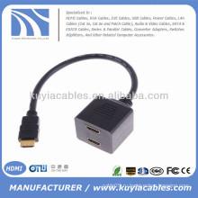 HDMI мужчины на 2 HDMI Женский Splitter кабель-переходник