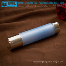 ZB-RB50 50ml empty wholesale chinese factory double layers rotary 50ml airless lotion bottle