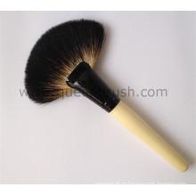 Bristle Hair Sweeping Fan Brush Pó Grande Escova Cosmética