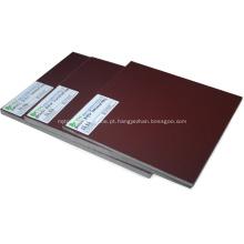 Folha de papel laminado fenólico de 5mm de isolamento