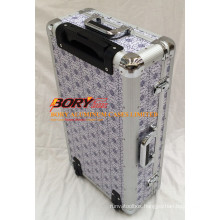 High Quality Hard Travel Trolley Make up Box Flight Case