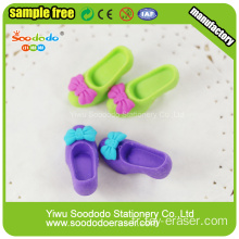 SOODODO 3D Fancy Snowman Shaped Eraser for Students