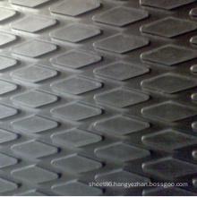Rhombus Parttern Non-Slip Rubber Sheet