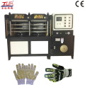 Kpu Glove Upper / Cover Hot Haking formant la machine