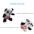 Squeaky Plush Dog Toy Pack para cachorro