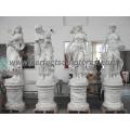Tallando la estatua de piedra de la escultura de mármol para la decoración del jardín (SY-X1183)
