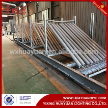 Hot dip galvanized steel guardrail post,post for highway safety application