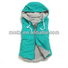 Women Hooded Fashion Vest 2013