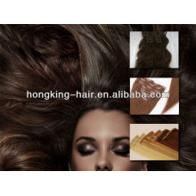 AAAAA Grade hot supply virgin remy brazilian clip hair extensions