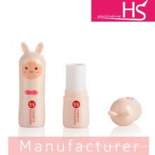 plastic lip balm container