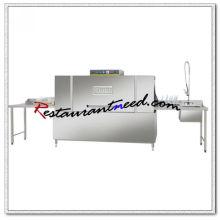 K716 Commercial Conveyor Geschirrspüler Box-Typ Geschirrspülmaschine und Ausgang Tischplatte Geschirrspüler