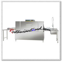 K716 Commercial Conveyor Dishwasher Box-type Dish Cleaning And Exit Table Top Dishwasher