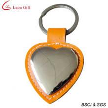 Conception personnalisée en alliage métallique Leather Keychain