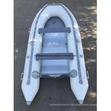 Ce 360 PVC-Rumpf-Material Aufblasbares Motorboot