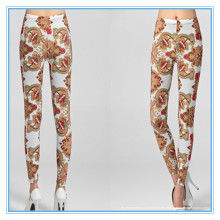 Nahtloses Designed Digital Print Leggings Nylon Spandex Material