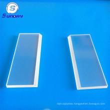 Optical glass BK7K9 square window