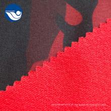 Escova com tecido Tricot impresso em pele falsa