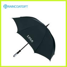 Parapluie de publicité droit imprimé par logo de marque fait sur commande