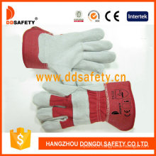 Cow Split Cheap Leather Construction Safety Work Gloves Manufacturer