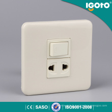 86 Type 1 Gang 2 Pin Socket pour le marché philippin