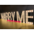Outdoor Party Event Marquee LED Signos de luz