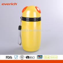 Taza de la sopa aislada del vacío del acero inoxidable de Everich, amarillo