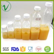 PET de alta qualidade por atacado diferente volume limpar o suco de garrafa de plástico vazio