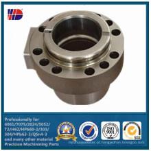 Peças de giro de aço inoxidável da precisão do CNC das peças de giro da elevada precisão