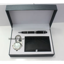 Men′s Gift Watch Sets with Carabiner Watch