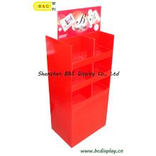 Cardboard Display, Counter Display, Pop Display, Corrugated Display, SGS Approved Floor Display Stand, Paper Display, Retail Display (B&C-A049)