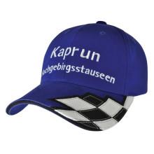 Racing Caps Black & White Plaid F1 Hats