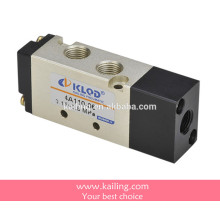 4V100 series solenoid valve, pneumatic control valve, pilot operated