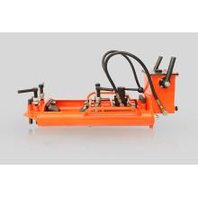 Máquina cortadora hidráulica de trilhos