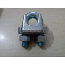 Clipe de cabo de aço galvanizado