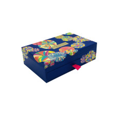 Drawer cosmetic packaging paper box