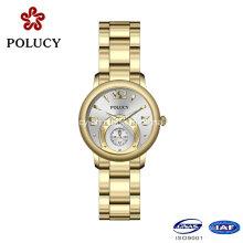 Toute nouvelle arrivée luxe Casual sport Quartz Watch pleine en acier inoxydable montre-bracelet