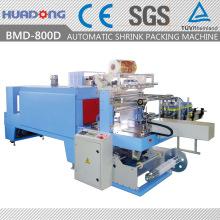 Automatische Sleeve Sealing und Shrinking Packmaschine mit bedruckter Folie
