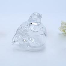 Bird Shaped Glass Candy Jar