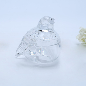 Bird Shaped Glass Snoeppot