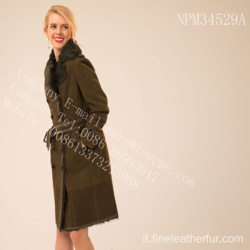 Reversibile Lady Merino Shearling Coat
