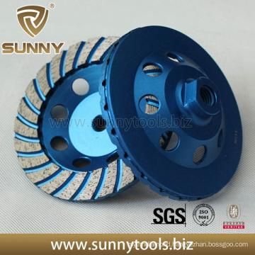 Professional 100mm Turbo Diamond Grinding Disc Concrete Grinding Wheel